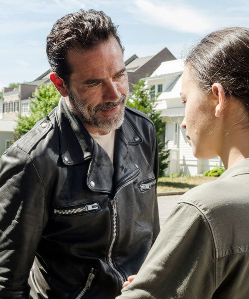 Negan & Rosita (TWD 7x4) His arrogance and need to be all powerful will be his downfall. I hope it's Maggie that kills him. That would be so fitting and fucking amazing. I hate what he has done to the group. They are so broken and fractured, and will never be the same.