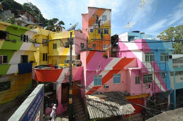 favela painting, joeroen koolhaas, dre urhahn