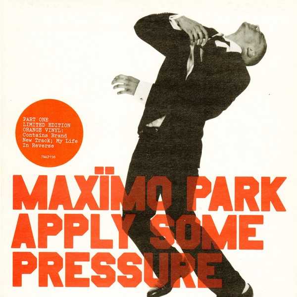 Maxïmo Park, designed by the great London designstudio YES, commissioned by Warp Records.