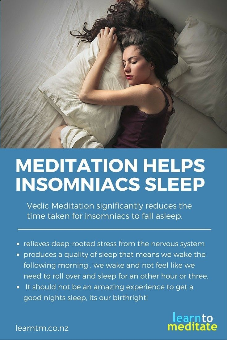 Could Vedic Meditation be your Insomnia cure? #insomnia #sleep #meditation