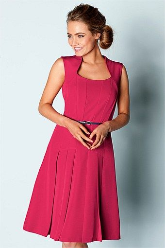 Capture Dresses - Brands - Capture Fit and Flare Dress - EziBuy Australia