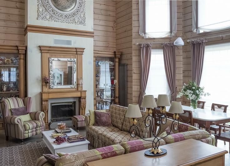 Деревянный дом в Подмосковье для большой семьи