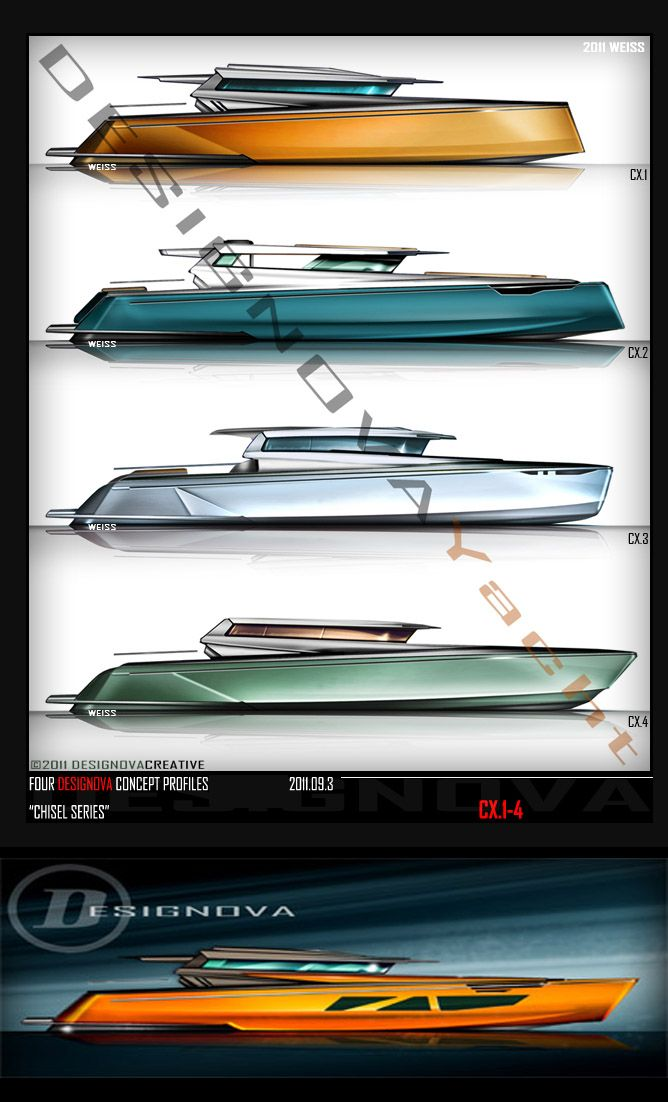 YACHT Design by J. David Weiss at Coroflot.com