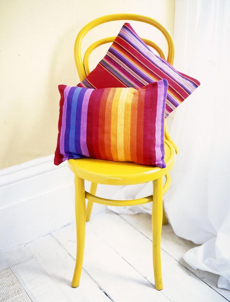Malabar Fabric Cushions, Stylist: Miranda McVicars for Real Homes magazine