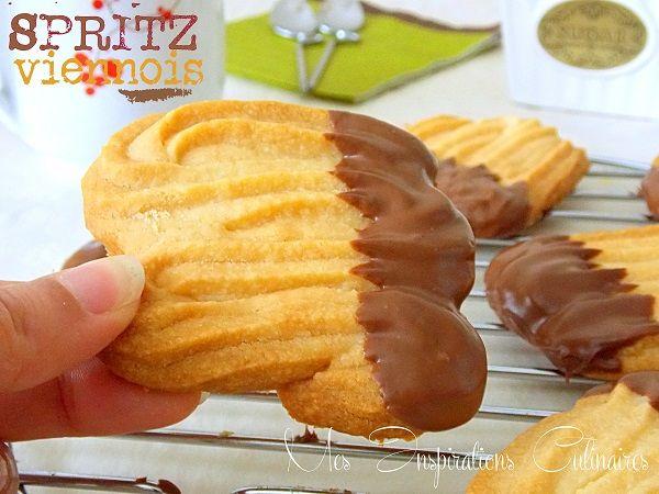 Spritz ou Sablés viennois (sans oeufs)