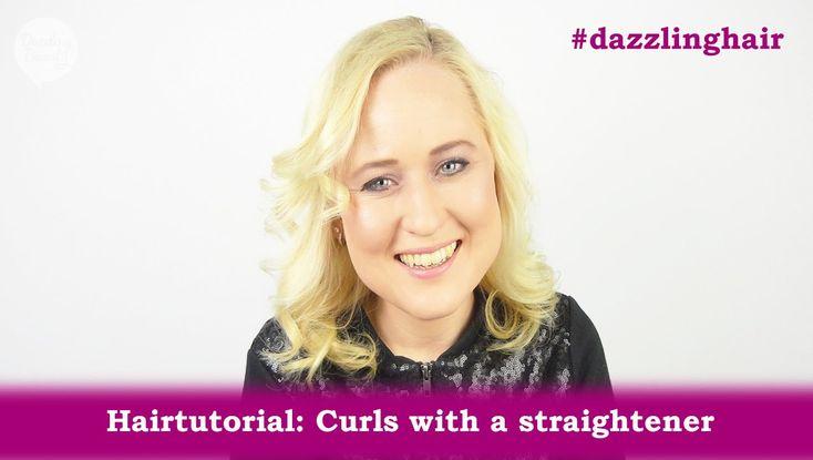 Hairtutorial: Zachte krullen met stijltang - Soft curls with a straighte...