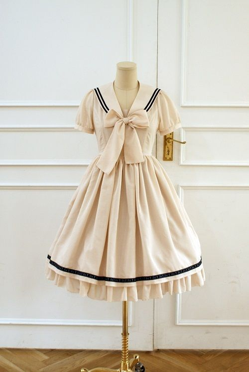I want this, only chambray blue or navy with white trim.