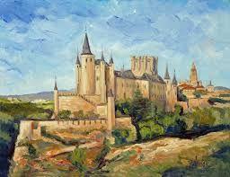 Painting #Alcazar #Segovia