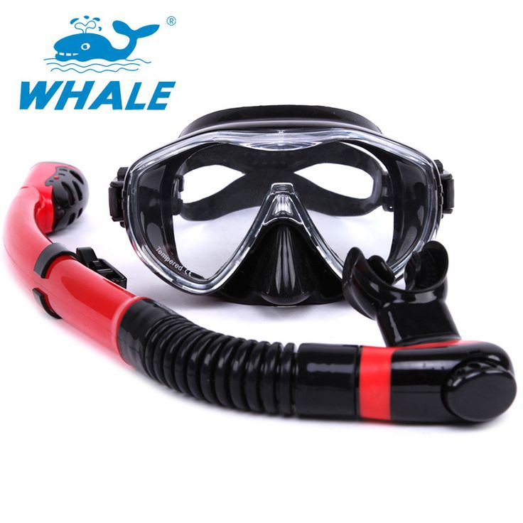 Hot sale Water Sport Training Diving glasses Anti-Fog Snorkeling Equipment Breathing tube Silicone Scuba Diving Mask Snorkel set