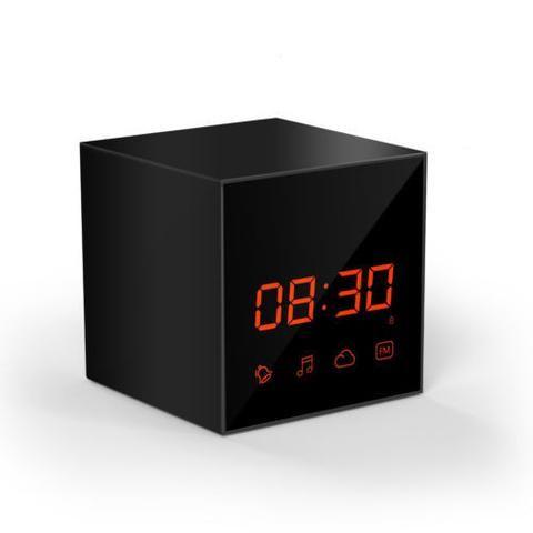 Hd Wireless  WiFi Hidden/Spy Camera Smart Clock Digital Video Recorder Mini New