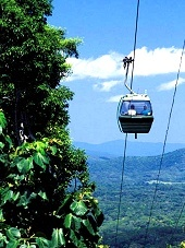Cairns, Queensland, Australia - Kuranda, Skyrail Rainforest Cableway