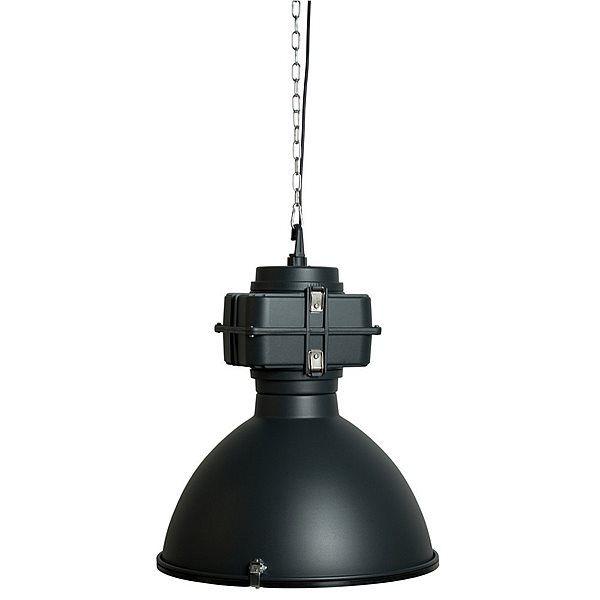 Zuiver Vic Industry Hanglamp - Mat Zwart