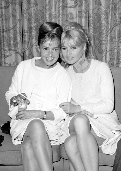 "lapitiedangereuse: "" Jeanne Moreau & Brigitte Bardot """