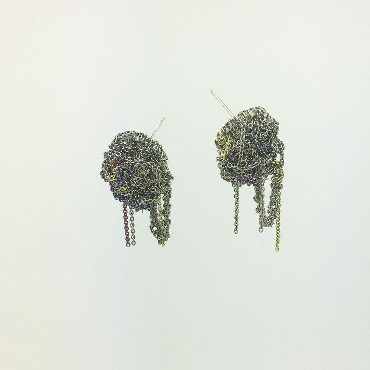 FLEURET EARRINGS SPECTRUM by ARIELLE DE PINTO