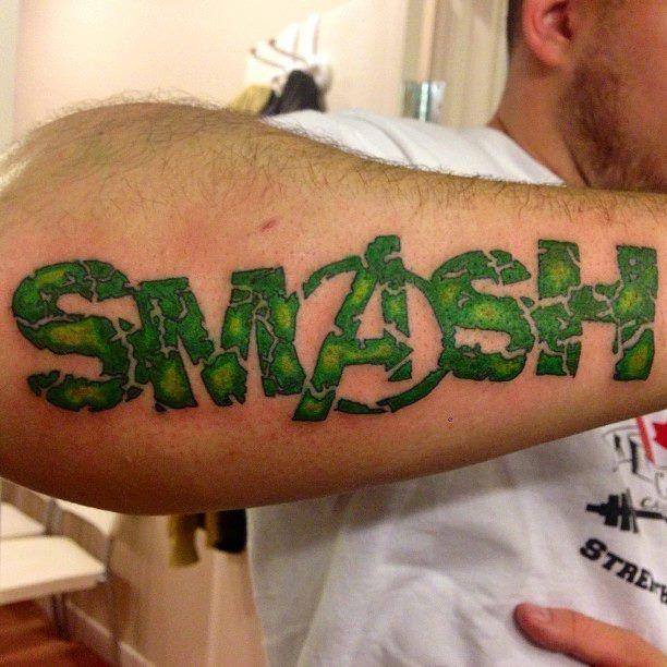 incredible hulk tattoo - Google Search