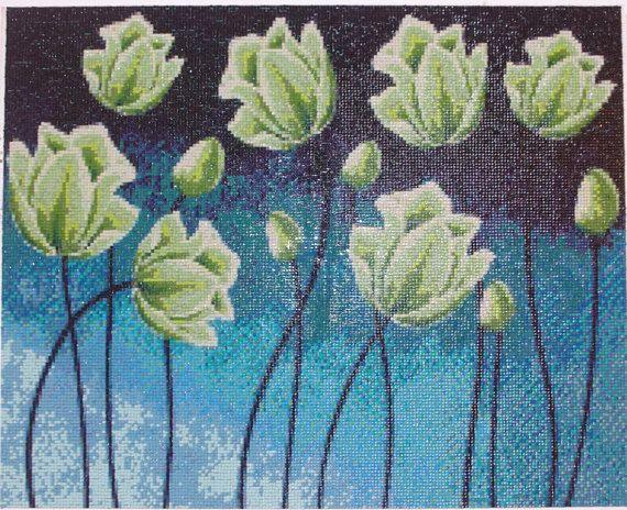 Mangler Flower Diamond Painting Home Decoration Finished