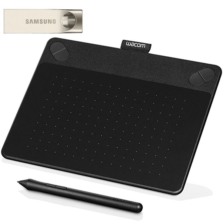 Wacom Intuos Art Pen and Touch digital graphics + drawing & painting tablet #Wacom