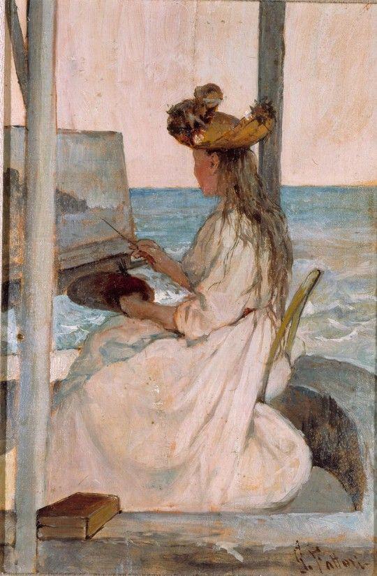 Giovanni Fattori: La scolarina, 1893