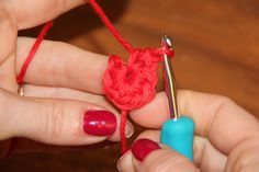 How to do a magic ring - Phototutorial for crochet newbies!