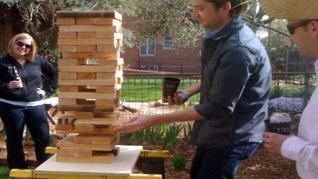 DIY Backyard Games | DIY Giant Jenga is a Great Outdoor Game