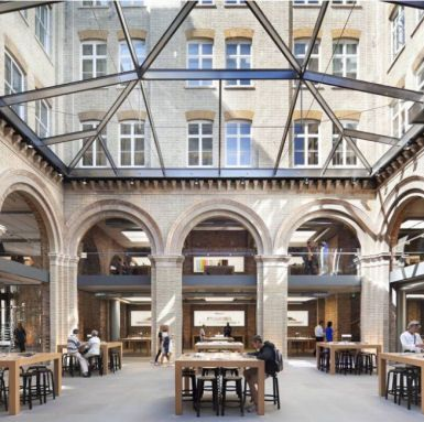 The Apple Store, Covent Garden, London, England