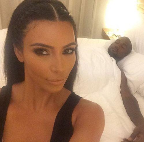 Les tresses de Kim Kardashian