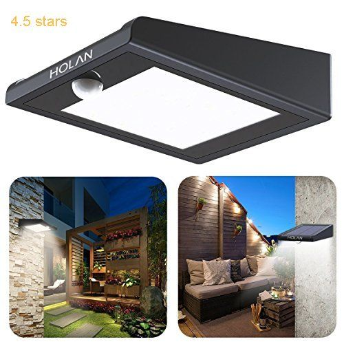 Elegant  Solar Powered Security Lights Outdoor Super Bright Waterproof Wireless Degree Wide Angle Motion Sensor Wall Lights for Garden Fence Patio Deck
