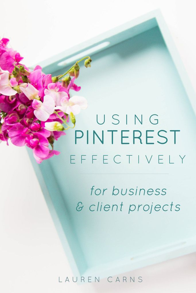 3 Ways To Use Pinterest for Projects Effectively