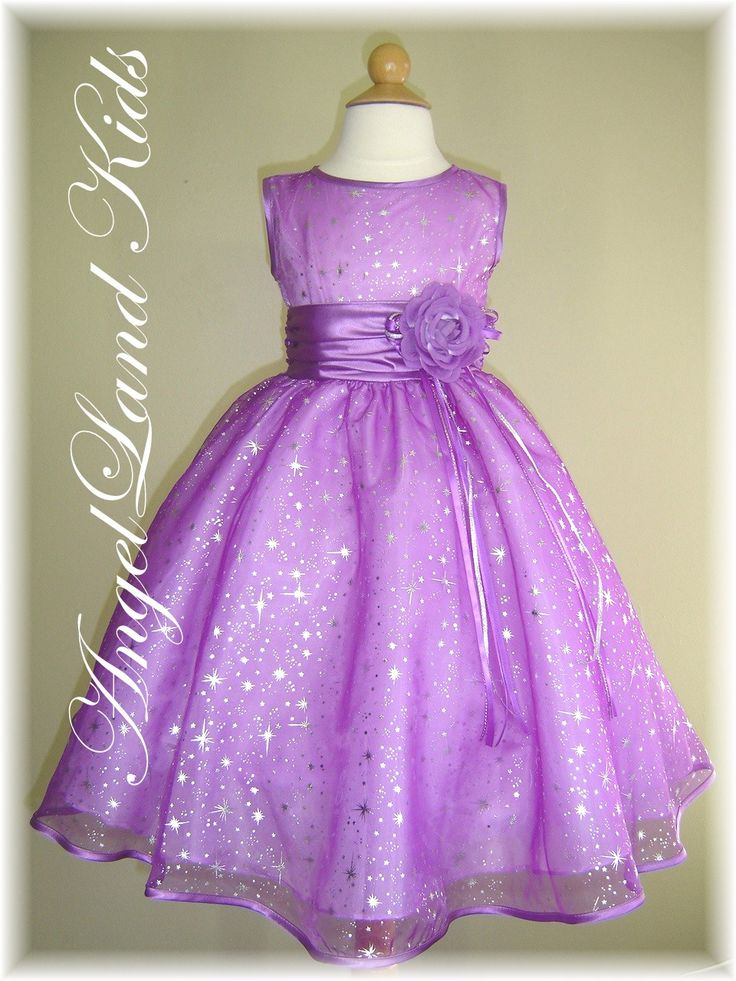 Affordable Lilac Toddler Dresses Beautiful Lilac Flower Girl Dresses