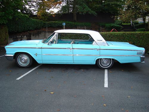 1963 Ford Galaxie 500 Four Door. This was my first car except mine was white.