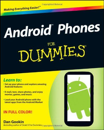 77 best for dummies books images on pinterest for dummies social everything you need to know about your android smartphonein full color eager to fandeluxe Choice Image