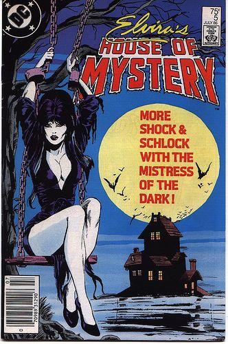 .Elvira's House of Mystery Vol 1 5.Cover by Mark Beachum