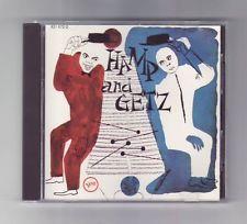 (CD) STAN GETZ / LIONEL HAMPTON - Hamp And Getz / W. Germany Import / 831 672-2