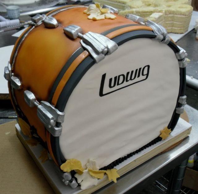 Drum birthday cake/Rodjendanska torta bubanj
