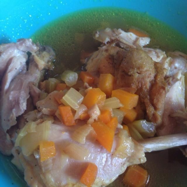 圧力鍋レシピ - 4件のもぐもぐ - 骨付き鳥モモ肉のカレー粉煮 by tanabekaoru