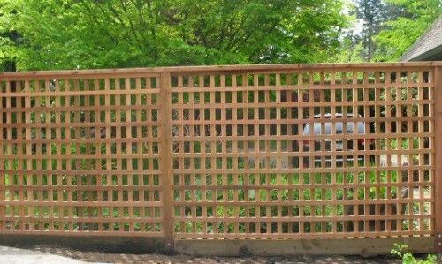 CEDAR FENCES – SPECIALITY WOOD FENCES « Quality Custom Cedar Fencing