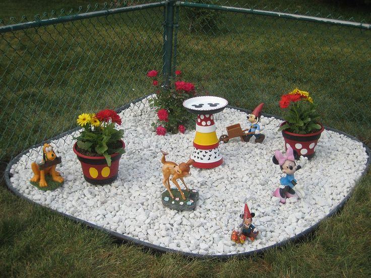 This is our Disney garden. - 59 Best Disney Yard Ideas Images On Pinterest Christmas Yard Art
