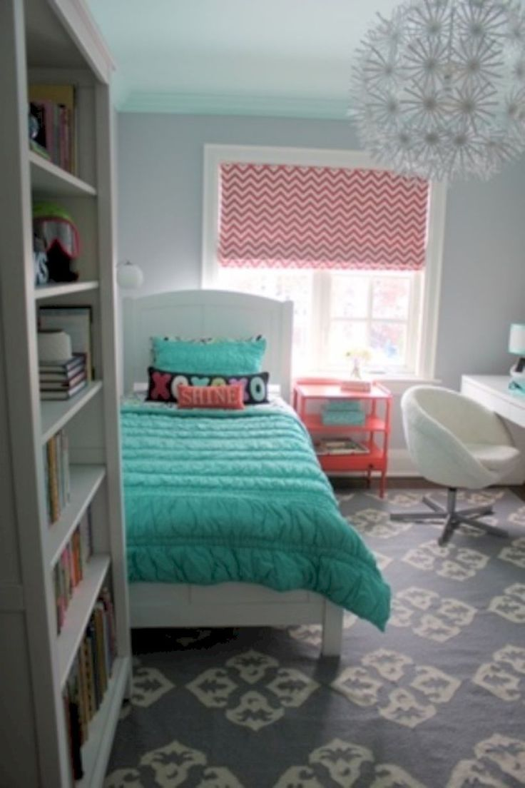 As 25 melhores ideias de small teen bedrooms no pinterest - Small room ideas for teenage girl ...