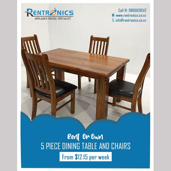 Upgrade Your Dining Furniture By Renting 5 Piece Dining Table And