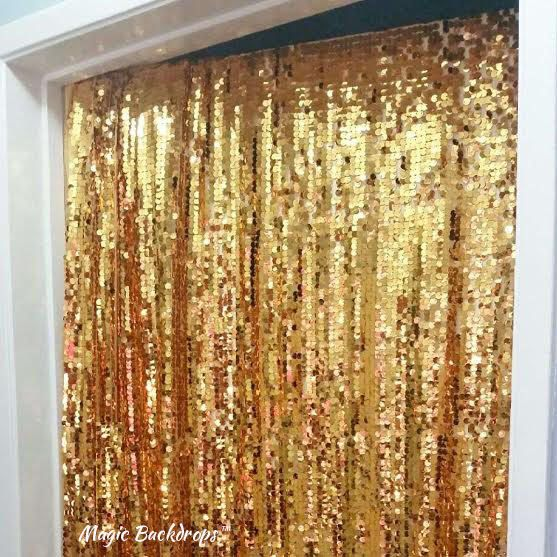 Gold Sequin Backdrop, Birthday Party, First Birthday Party, New Years Eve, Wedding Shower, Bachelorette Party, Children's Birthday by MagicBackdrops on Etsy https://www.etsy.com/listing/292455007/gold-sequin-backdrop-birthday-party