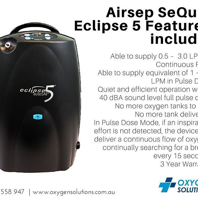 The Airsep SeQual Eclipse 5 has many great features including Dual Dose Technology!  Request a Product Demo and get it for yourself at http://oxygensolutions.com.au/airsep-sequal-eclipse-5