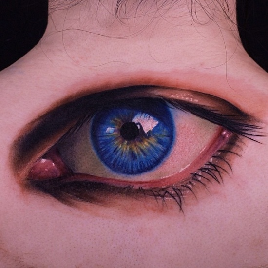 19 Best Realistic Eye Tattoos Images