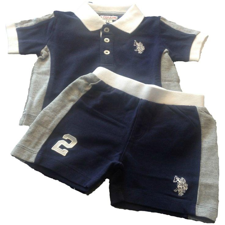 COMPLETO U.S.POLO ASSN KIDS, Completo da neonato di U.S.Polo Assn multicolore composto da una polo e da un pantaloncino corto.  http://www.abbigliamento-bambini.eu/compra/completo-bimbo-u-s-polo-assn-2973603