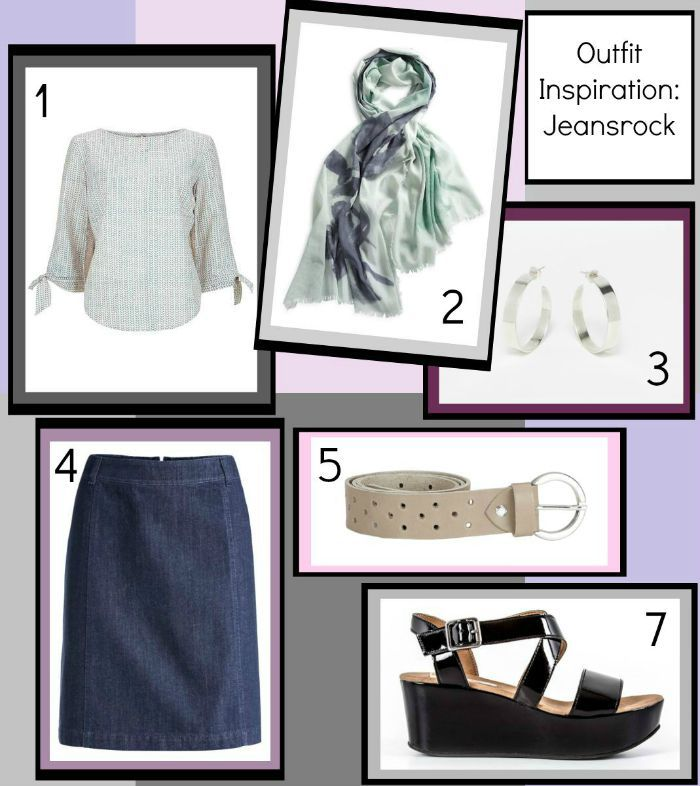 Fair Fashion Inspiration - Jeansrock Image