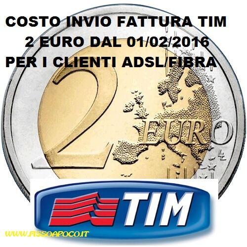 #TIM costo invio fattura 2Euro dal 01 febbraio http://www.fissoapoco.it/telecom-invio-bolletta-cartacea-passa-a-2-euro-dal-01-febbraio-2016/