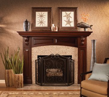 Small Traditional Living Rooms | Living Room Fireplace Mantel Design Ideas,  Pictures, Remodel And