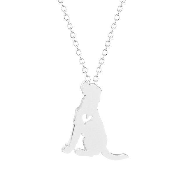 Namensketten - Labrador-Retriever-Hund-Charme-Halskette - ein Designerstück von chengxun bei DaWanda
