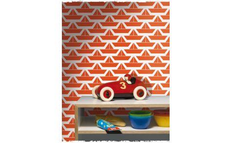 BEHANGPAPIER BOOT LAVMI - Wallpaper, Papier peint, Kinderkamer decoratie | De Boomhut