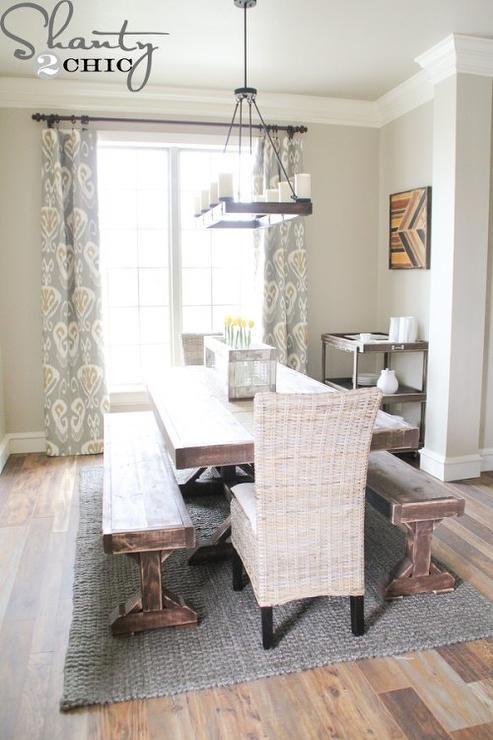 dining room, Valspar Fairmont Penthouse Stone