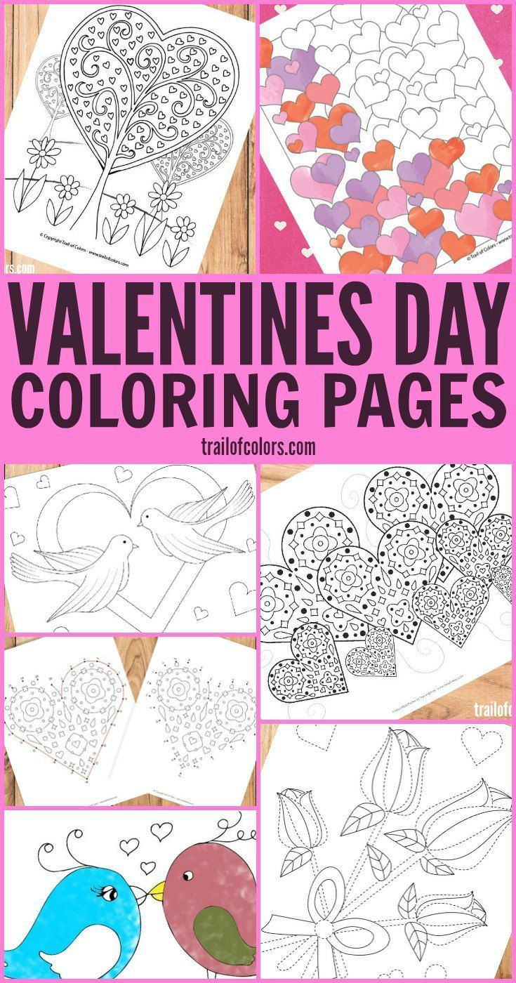Paw patrol coloring pages valentines - Free Printable Valentines Day Coloring Pages For Adults And Kids